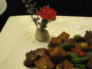 Beautifully presented food