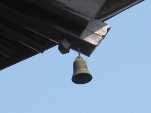 Bells hung from every corner of the temple