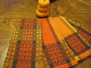 autumn towels 1